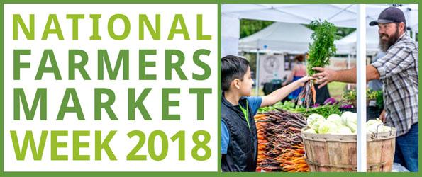2018 Farmers' Market Week