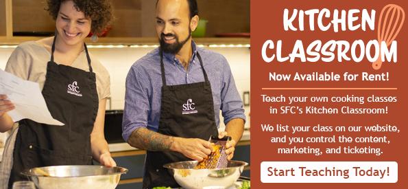 Kitchen Classroom Rentals