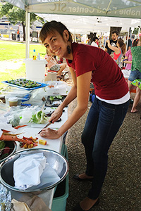 We love our farmers' market volunteers!