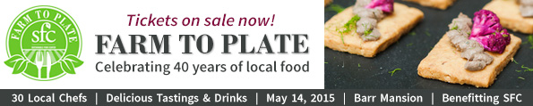 Farm to Plate Tickets on Sale Now!
