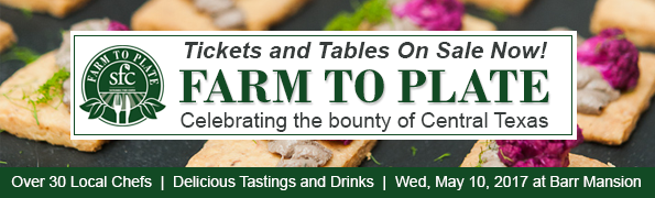 Tables on Sale Now for Farm to Plate!