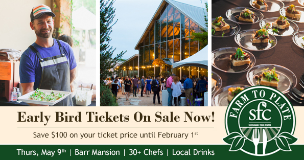 Farm to Plate Early Bird On Sale
