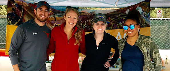 Volunteers at SFC Farmers' Market