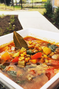 Stay warm with Katz' Lentil Soup