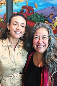 Martha Ramos and Paula Rojas