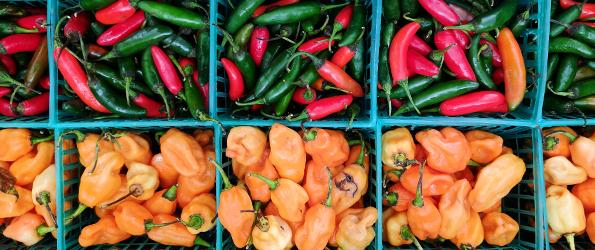 Pepper baskets