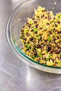 SMOKEY BLACK BEAN QUINOA SALAD