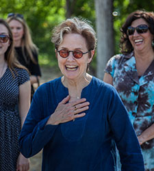 Alice Waters Visits SFC