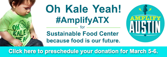 #AmplifyATX for SFC. Food is our future.