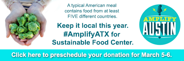 #AmplifyATX for Local Food