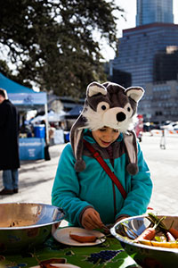 Bundle up and stay warm at the SFC Farmers' Markets!