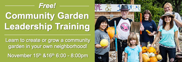 Community Garden Leadership Training
