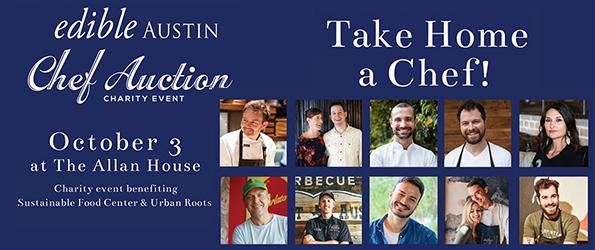 Edible Austin Chef Auction
