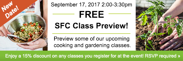 New Date! Class Preview Event