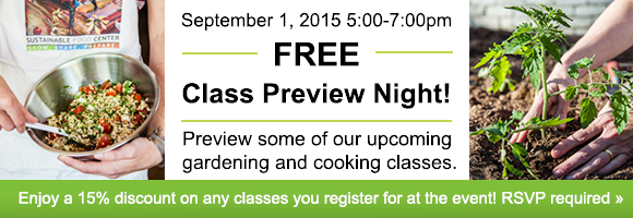 Join us for our 2015 FREE Class Preview Night!!