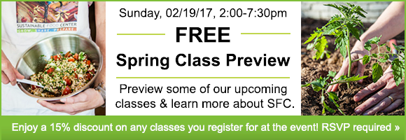 Spring Class Preview
