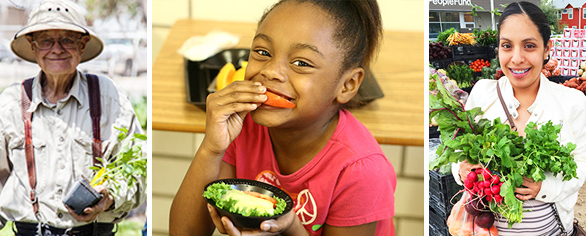 Give the gift of healthy food for all.