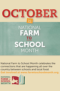 Celebrate Farm to School with us!