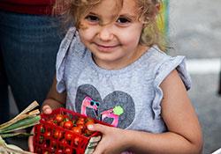 Girl Tomatoes