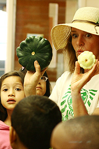 Meet the farmer - advocate for Farm to School!