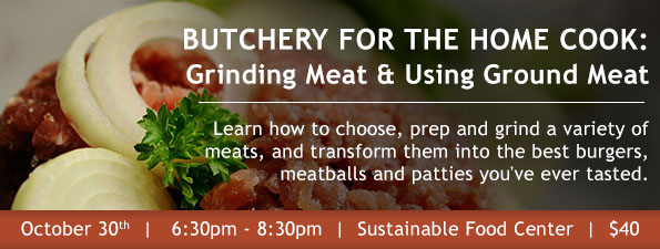 Ground Meat Class