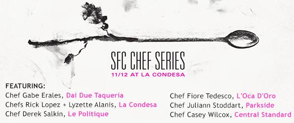 SFC Chef Series at La Condesa