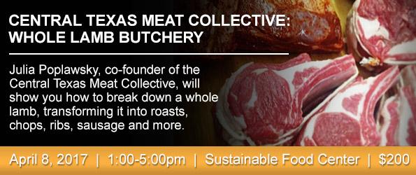Whole Lamb Butchery