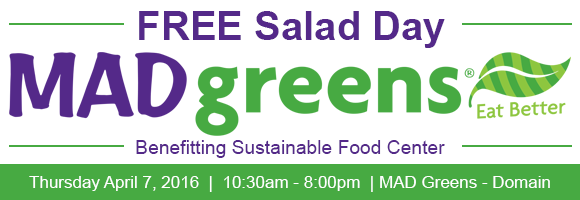 Free Salad Day at MAD Greens