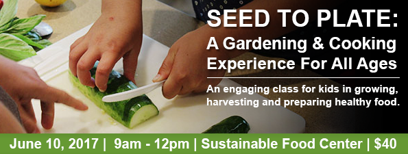 Seed to Plate: A Gardening and Cooking Experience