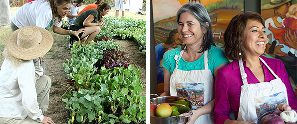 New Cooking and Gardening Classes