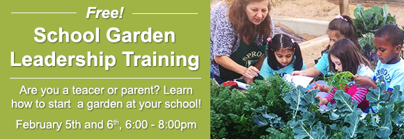 School Garden Leadership Training